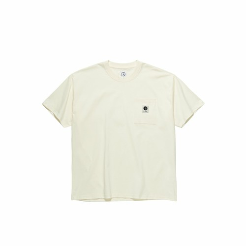POLAR SKATE CO / POCKET TEE -IVORY-