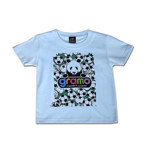 キッズTシャツ「BALL BOY」(ライトブルー/KT-003)