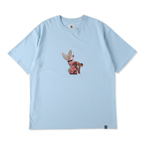 PENCIL DRAWING TEE / THUMPERS