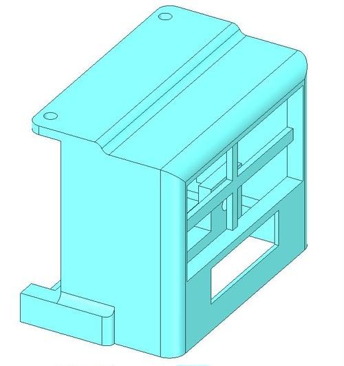 【3Dデータ】ロボムーバーの前パーツのSTLファイル