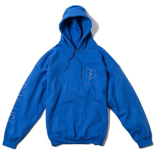 Deviluse(デビルユース) |  Woman Neon Pullover Hooded(Blue)