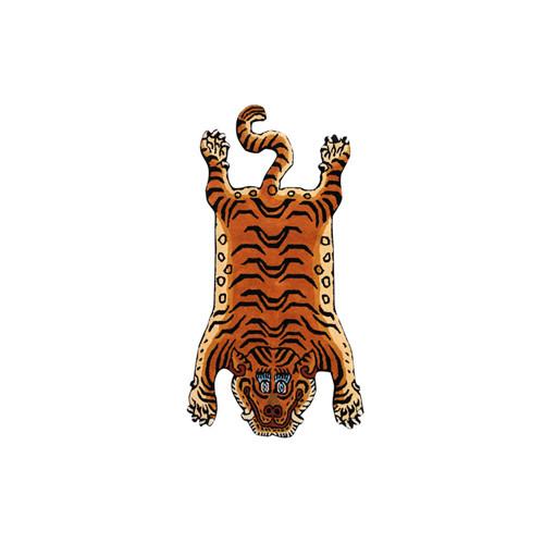 """チベタン Tibetan Tiger Rug """"DTTR-01 / Small"""""""