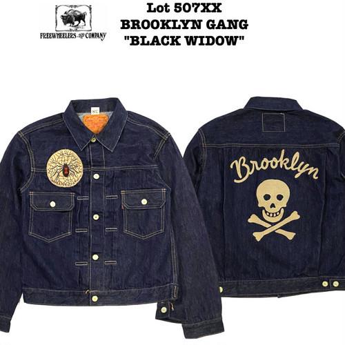 "Lot 507XX BROOKLYN GANG ""BLACK WIDOW"" / FREEWHEELERS/フリーホイーラーズ THE VANISHING WEST"