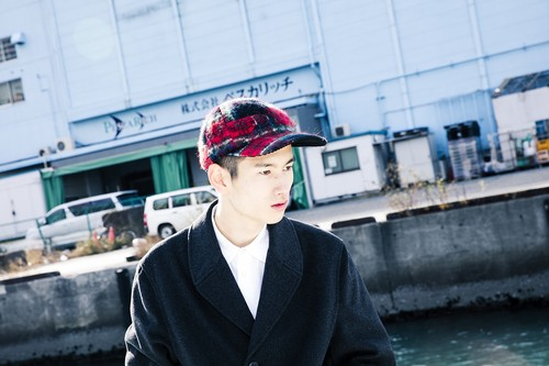 MOSAIC CAP/red