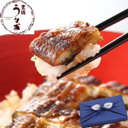 【贈り物用】豊橋うなぎ蒲焼き 155-167g×2尾 たれ・山椒付
