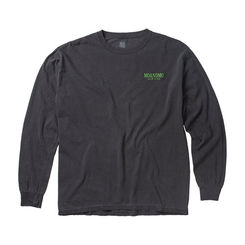 MOANDMO L/S Map Tee / Black