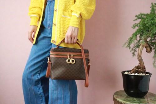 CELINE macadam 2 way bag