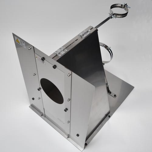DUCTCOVER-V6S-PRO ステンレス製幕除本体(別売の断熱材付直管が必要)