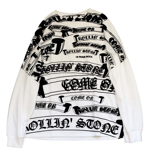 """COME ON / ROLLIN' STONE"" L/S TEE"