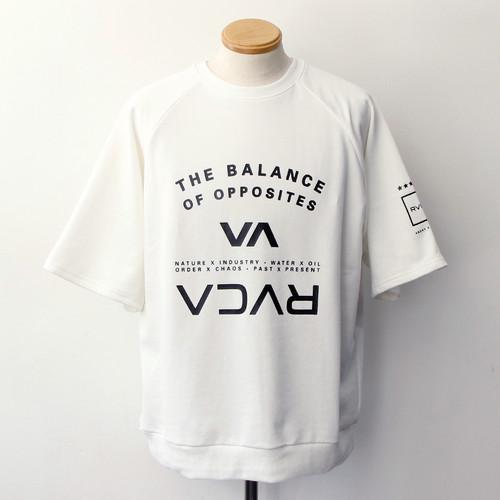 【RVCA】 BALANCE ARC SS (WHITE)