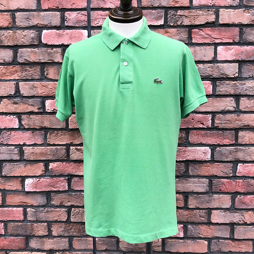 1980s Lacoste Polo Shirt Made In France L.Green 4