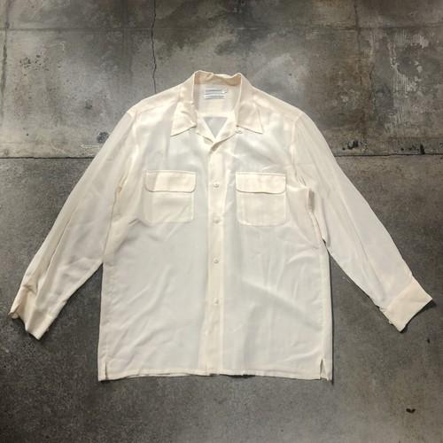 00s  Open Collar  Silk Shirt