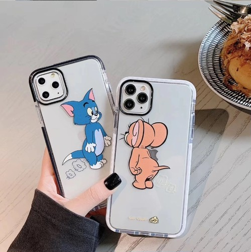 【オーダー商品】Couple mouse cat iphone case