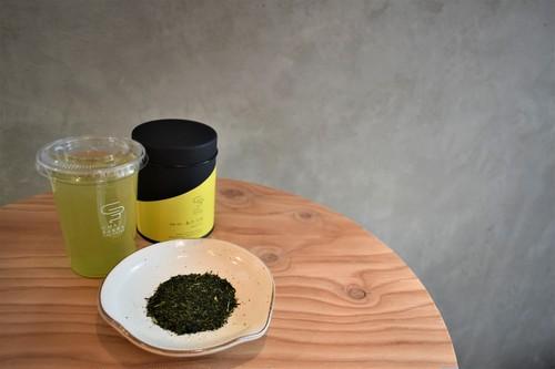 あさつゆ - 深蒸し煎茶 - 50g(茶缶)
