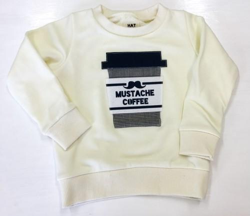 ●マスタッシュコーヒートレーナー(オフホワイト)☆