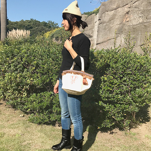 Elephant Cotton Bag (Mini Size)