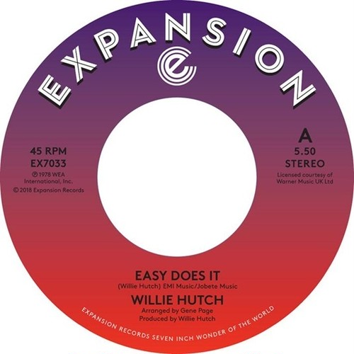 """【7""""】WILLIE HUTCH - Easy Dose It / Kelly Green <EXPANSION>EX7033"""