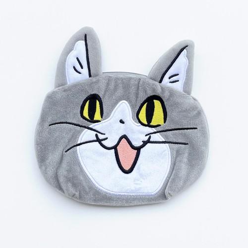 電話猫フェイスポーチ