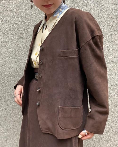 (PAL) leather jacket