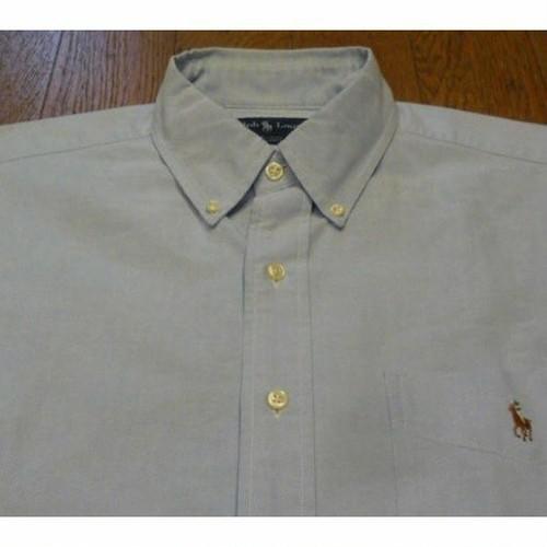 Ralph Lauren ボタンダウンシャツ (L)   ★送料無料 !! (クリックポスト不可)