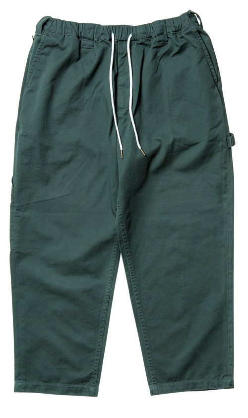 TIGHTBOOTH BAGGY PAINTER PANTS L Forest タイトブース パンツ