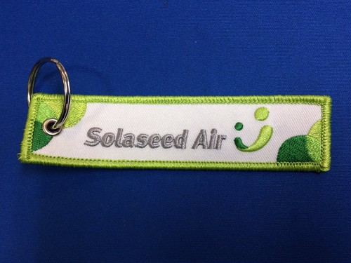 "Solaseed Air ""Seed smiles in the sky""タグキーホルダー"