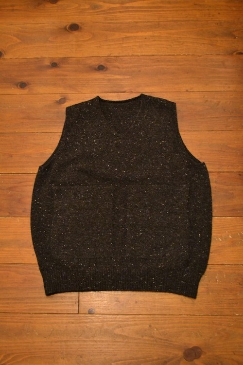 crepuscule / whole garment knit vest