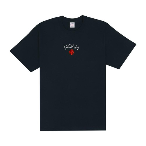 Rose Core Logo Tee(Navy)