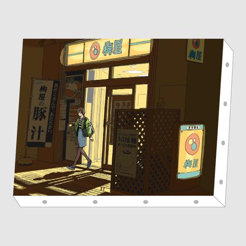 田中 寛崇「アウト・オブ・ザ・牛丼」アートキャンバス F4サイズ