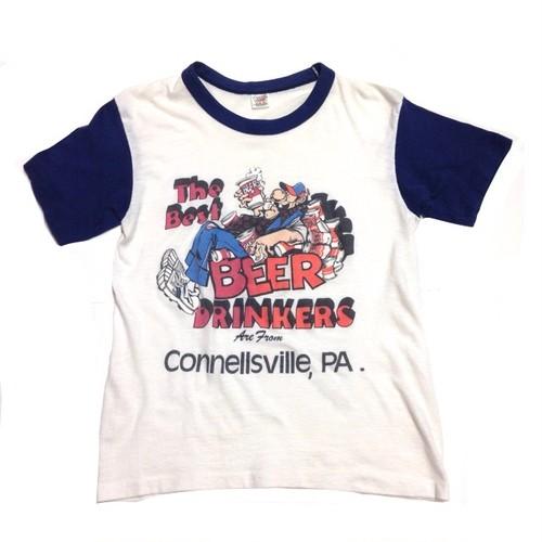 Tシャツ/70's Beer drinkers  【古着】