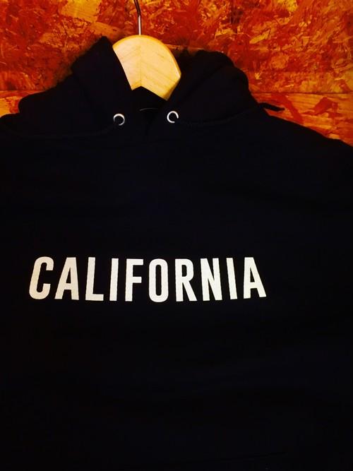 champion プルパーカー CALIFORNIA  Sサイズ ブラック USボディ