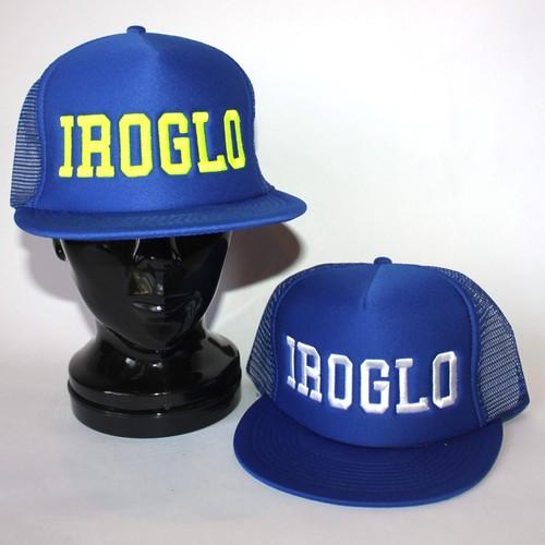 IROGLO(イログロ)CAP/メッシュキャップ/ブルー