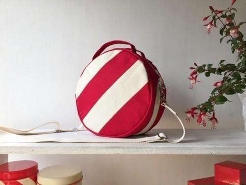 【受注製作】DOTLINE BAG | RED×ECRU