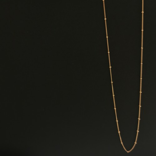 Station chain 14kgf necklace