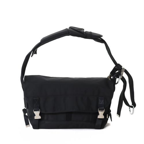 Ballistic Messenger Bag Black M LO-STN-SB01-M