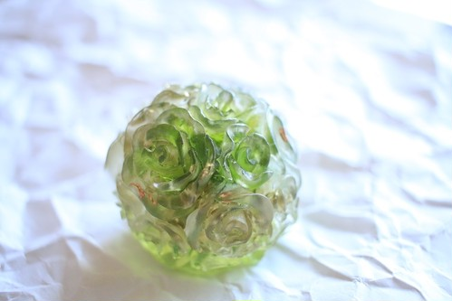 バラ球体グリーン