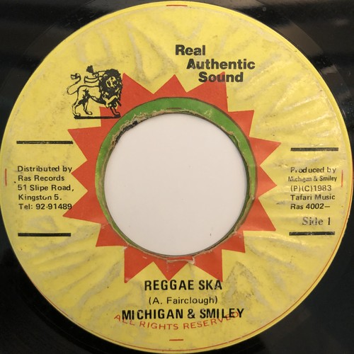 Michigan & Smiley - Reggae Ska【7-20327】