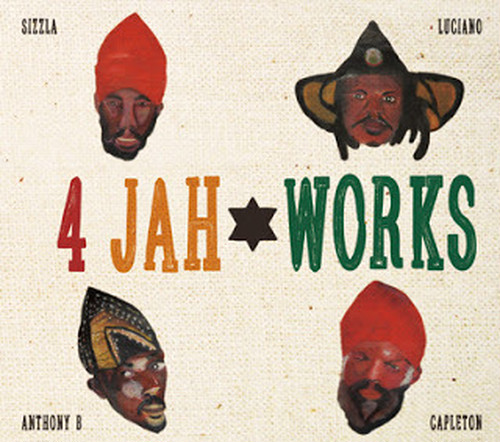 4 JAH WORKS DUB PLATE COLLECTION OGA fr. JAHWORKS