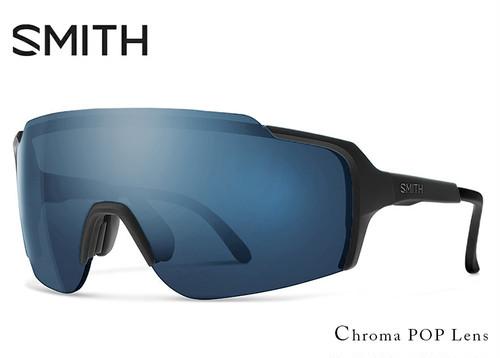 SMITH (スミス) サングラス FLYWHEEL matte black chromapop sun black フライホイール 1枚レンズ シールド型 サングラス メンズ 男性用