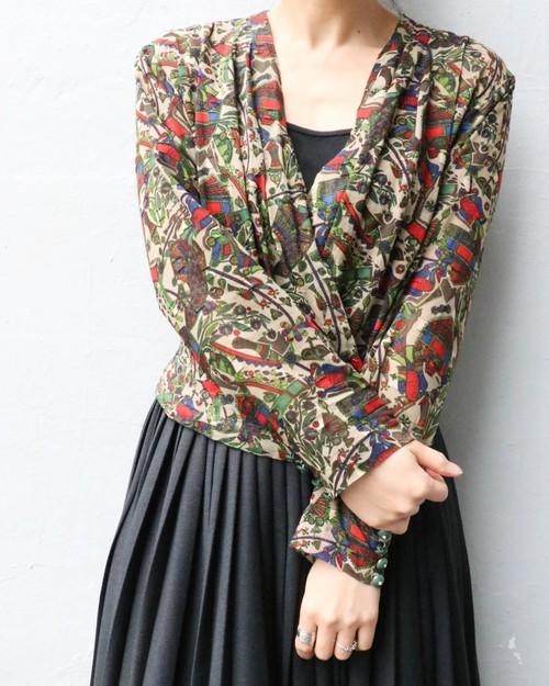 vintage ethnic blouse