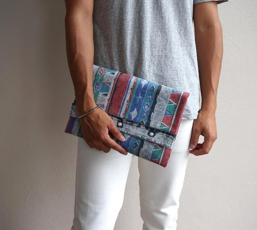 """WESTERN CLUTCH"" 80's Wrangler NATIVE&CHEMICAL ②"
