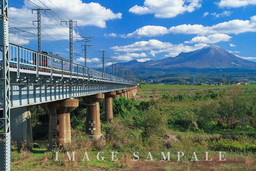 鉄道と大山