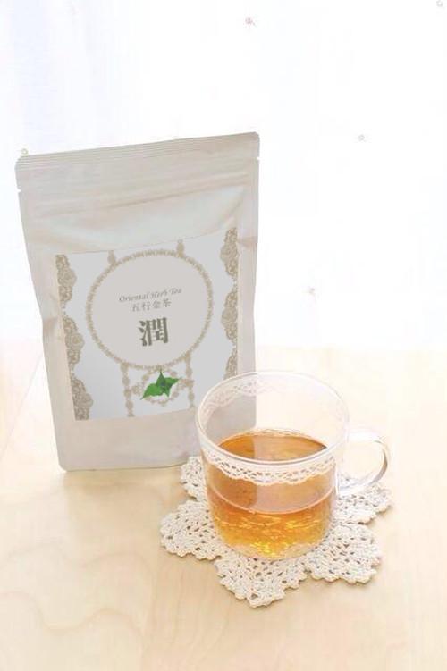 Sasamary漢方ハーブティー 五行金茶「潤」30包
