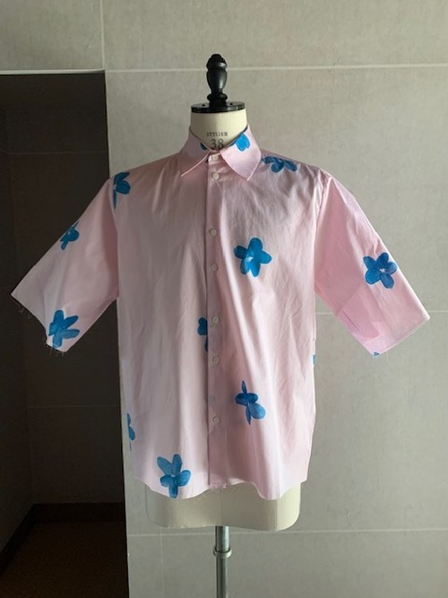 CAMIEL FORTGENS HAND PAINTED SHIRT