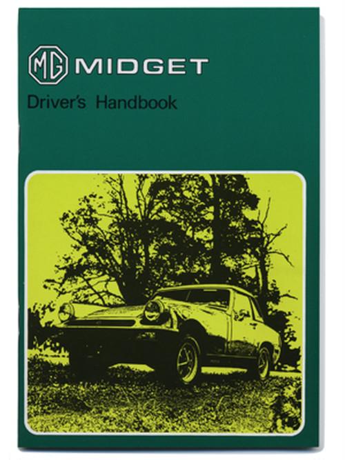 MG ミジェット MK3・ドライバーズ・ハンドブック・1978