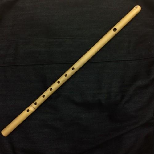 登山囃子笛・6寸3分(素竹)