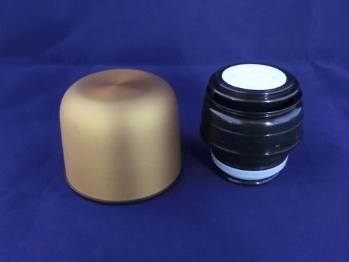 銀未来ボトル ワンプッシュ形 ゴールド キャップ一式 GMPB金-キャップ一式