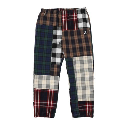 EXAMPLE OE LOGO PATCH PATCHWORK PANTS / MULTI