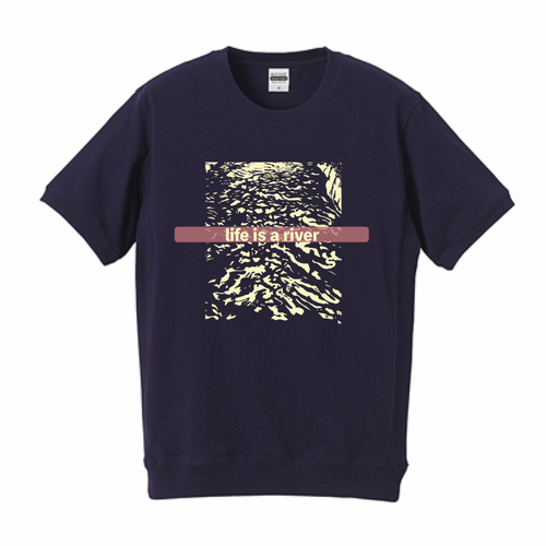 LIFE IS A RIVER tee