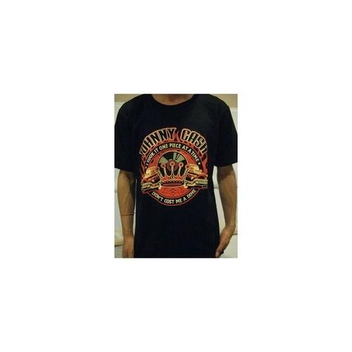 ジョニー・キャッシュ Johnny Cash カントリー、ロック歌手 プリントTシャツ